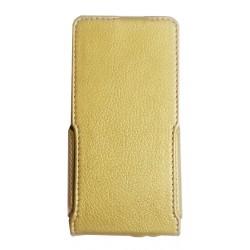 Чехол-книжка Nomi i504 gold Flip cover Melkco Hcopy