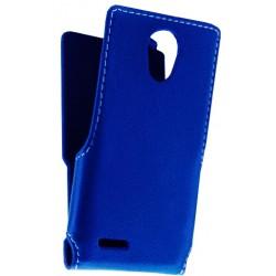 Чехол-книжка Bravis A501 blue Flip cover Melkco Hcopy