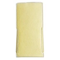 Чехол-книжка Bravis A501 gold Flip cover Melkco Hcopy