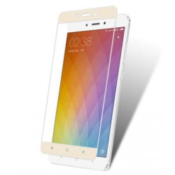 Стекло Xiaomi Redmi Note4 white frame