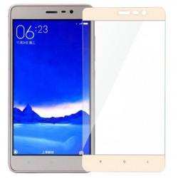 Стекло Xiaomi Redmi Note3/2pro gold frame