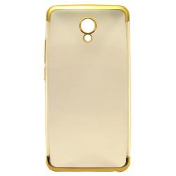 Силикон Meizu M5 gold bamper