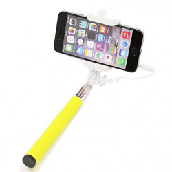 Monopod cable 3.5mm yellow