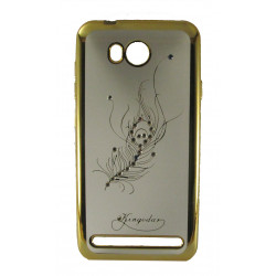 Силикон Huawei Y3II gold Swan