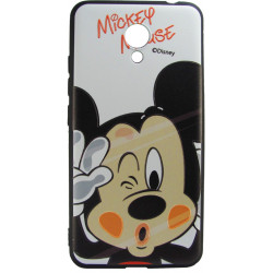 Силикон Meizu M5C 3D Mickey Mouse black