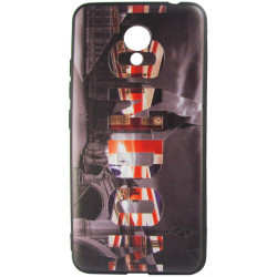 Силикон Meizu M5C 3D London black