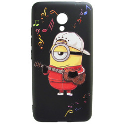 Силикон Meizu M5C 3D Minion black