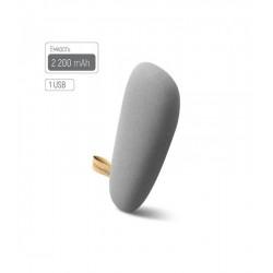 Универсальная мобильная батарея ColorWay Arrival 2200mAh Grey (CW-PB022LIS1GY) Гар. 12 мес.