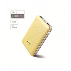 Универсальная мобильная батарея ColorWay 8000mAh Gold (CW-PB080LPA2GD) Гар. 12 мес.