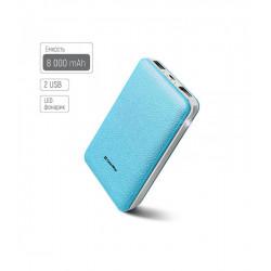 Универсальная мобильная батарея ColorWay 8000mAh Blue (CW-PB080LPA2BL) Гар. 12 мес.