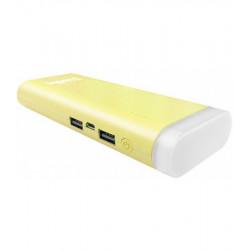 Универсальная мобильная батарея ColorWay Flashlight 11000mAh Yellow (CW-PB110LIB2YL-F) Гар. 12 мес.