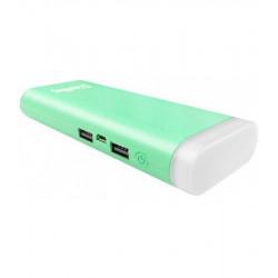 Универсальная мобильная батарея ColorWay Flashlight 11000mAh Green (CW-PB110LIB2GR-F) Гар. 12 мес.