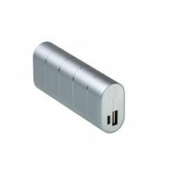Универсальная мобильная батарея Nomi Q067 6700 mAh Silver (249104) Гар. 12 мес.