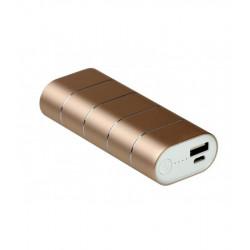 Универсальная мобильная батарея Nomi Q067 6700 mAh Gold (249103) Гар. 12 мес.