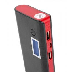 Универсальная мобильная батарея ColorWay 10000mAh Black/Red (CW-PB100LIB2BK-DF) Гар. 12 мес.