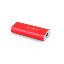 Универсальная мобильная батарея Esperanza 4400 mAh Red (EMP105R) Гар. 3 мес.