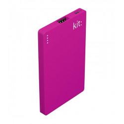 Портативное зарядное устройство KIT:  Fresh Business Card 2000mAh (Sea Mist Blue) (PWRFCARDPU) Гар. 12 мес.