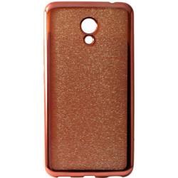 Силикон Meizu M5C gold Glitter