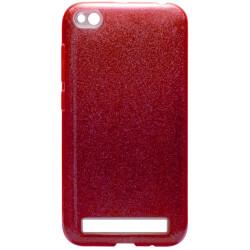 Силикон Xiaomi Redmi5A pink Glitter