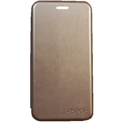 Чехол-книжка Meizu M5S gold Wallet