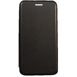 Чехол-книжка SA A530 A8 black Wallet