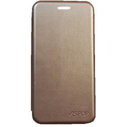 Чехол-книжка SA A530 A8 gold Wallet