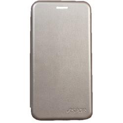 Чехол-книжка SA A530 A8 gray Wallet