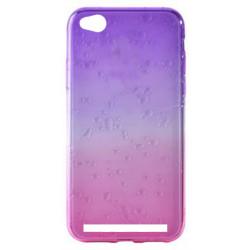 Силикон Xiaomi Redmi5A pink/violet 3D Капля