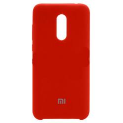 Силикон Xiaomi Redmi5 Plus red Soft Touch