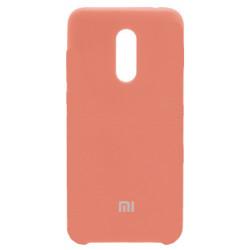 Силикон Xiaomi Redmi5 Plus peach Soft Touch