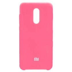 Силикон Xiaomi Redmi5 Plus pink Soft Touch