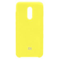 Силикон Xiaomi Redmi5 Plus yellow Soft Touch