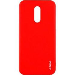 Силикон Xiaomi Redmi5 Plus red Inavi