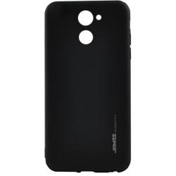 Силикон Huawei Y7 black SMTT