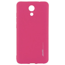 Силикон Meizu M5C pink SMTT