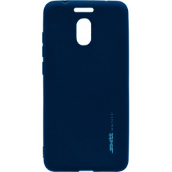 Силикон Meizu M6 Note blue SMTT