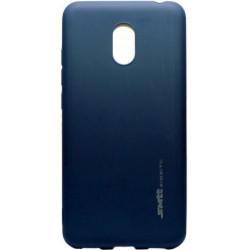 Силикон Meizu M6 blue SMTT