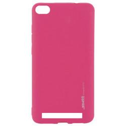 Силикон Xiaomi Redmi4A pink SMTT