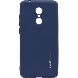 Силикон Xiaomi Redmi5 Plus blue SMTT