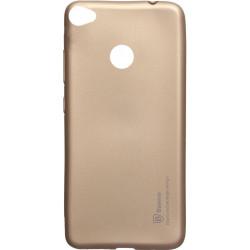Силикон Xiaomi Redmi Note5A Pro gold Baseus