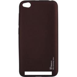 Силикон Xiaomi Redmi5A brown Baseus
