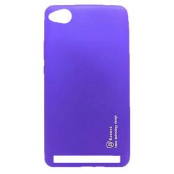 Силикон Xiaomi Redmi5A violet Baseus