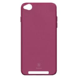 Силикон Xiaomi Redmi4A pink Soft Touch Baseus