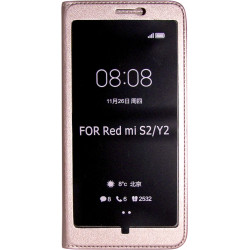 Чехол-книжка Xiaomi Redmi S2 pink Window Full