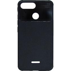 Силикон Xiaomi Redmi6 black Acrylic TPU