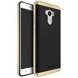Накладка Xiaomi Redmi Note4 black/gold iPAKY fashion