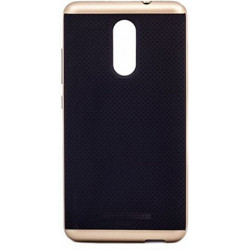Накладка Xiaomi Redmi3 black/gold iPAKY
