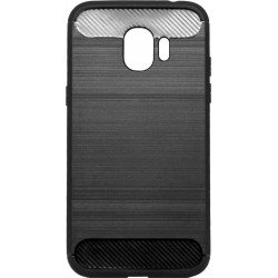 Накладка SA J250 black slim TPU PC