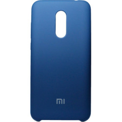 Накладка Xiaomi Redmi5 Plus blue Soft Case