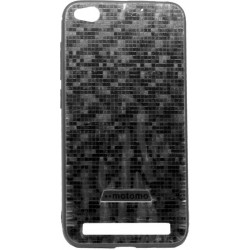 Накладка Xiaomi Redmi5A black мозаика Motomo